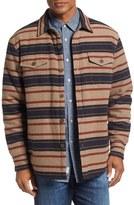 True Grit Men's Summit Baja Stripe Shirt Jacket