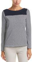 Brooks Brothers Striped Jersey Top.