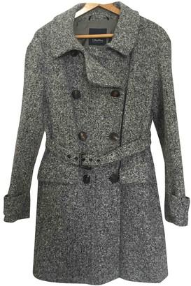 Max Mara 's Grey Wool Coat for Women