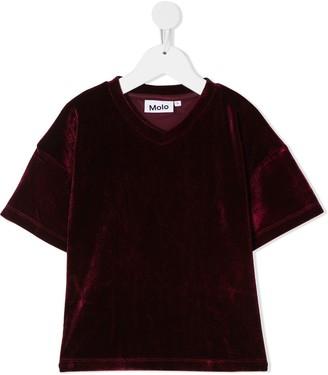Molo velvet T-shirt