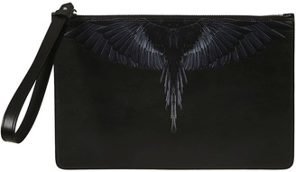 Marcelo Burlon County of Milan Black Wings Clutch