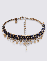 M&S Collection Sparkle Droplets Choker Necklace