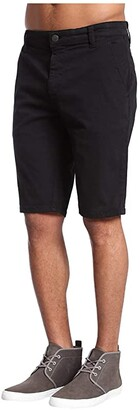 Mavi Jeans Jacob Shorts in Black Sateen Twill (Black Sateen Twill) Men's Shorts