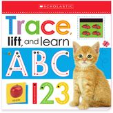 "Scholastic Trace, Lift, and Learn: ABC 123"" Board Book"