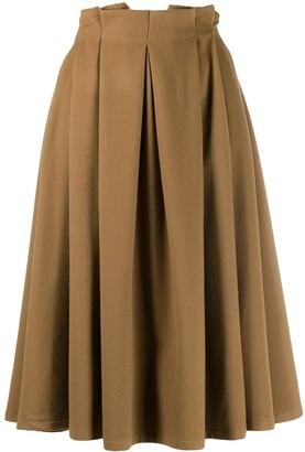 Societe Anonyme paperbag waist skirt