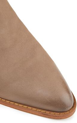 Sam Edelman Buckled Nubuck Ankle Boots