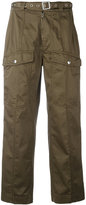 Dondup belted cargo pants - women - Cotton/Spandex/Elastane - 42