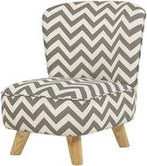 Babyletto Pop Mini Chair- Chevron Blue Fabric