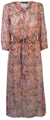 SET Womens Ditzy Midi Dress