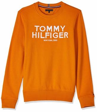 Tommy Hilfiger Boy's Logo Embroidered Sweatshirt