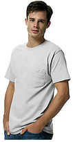 Hanes Men's Tagless 6.1 Short Sleeve With Pocket (Set of 3)