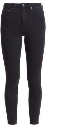 Ksubi High-Rise Wasted Skinny Jeans
