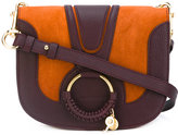 See by Chloe Hana crossbody bag - women - Cotton/Calf Leather - One Size