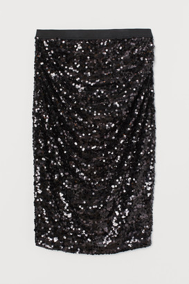H&M MAMA Skirt with sequins