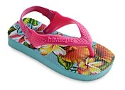 Havaianas Girls' Baby Chic Tropical Print Sandals - Baby, Walker, Toddler