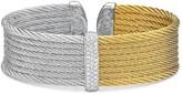 Alor Two-Tone Cable Cuff