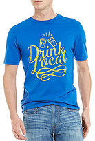 Daniel Cremieux Jeans Drink Local Graphic Short-Sleeve Crewneck Knit Tee