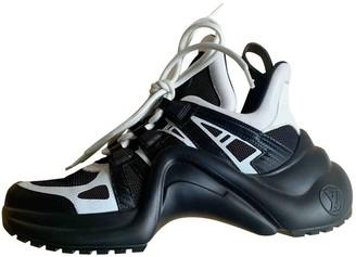 Louis Vuitton Archlight Black Leather Trainers