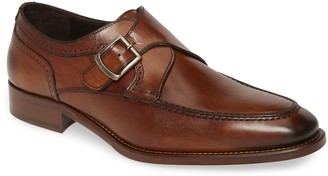 Johnston & Murphy Cormac Monk Strap Shoe