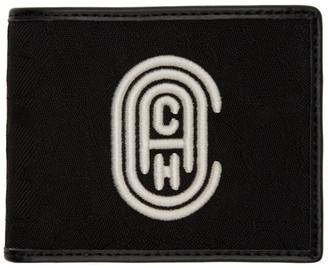 Coach 1941 Black Signature Double Bilfold Wallet