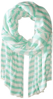 Kate Spade Painterly Bow Oblong Scarf