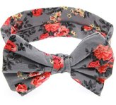 Generic Baby Kids Girls Floral Bow Hair Band Turban Knot Headwear