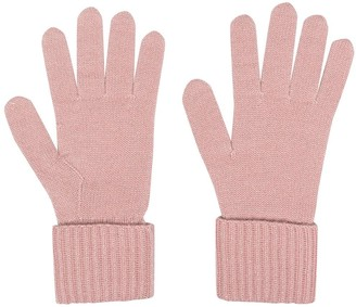 N.Peal Rib-Trim Gloves