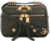 Moschino Biker cross-body satchel