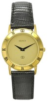 Gucci 03.3100.145 Gold Plated With Gold Dial 29mm Unisex Watch
