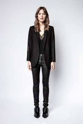 Zadig & Voltaire Viva Strass Panther Jacket