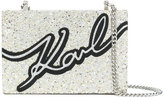 Karl Lagerfeld Audiere clutch