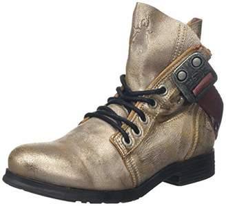 Fly London Women's Stay Biker Boots, Silver (Pearl 020), 5 (38 EU)