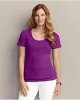 Eddie Bauer Favorite Short-Sleeve Scoop-Neck T-Shirt