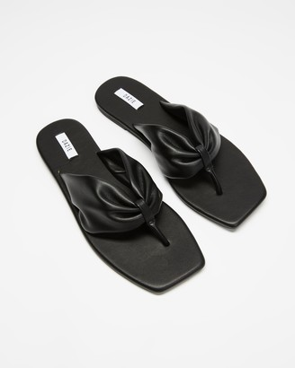 Dazie - Women's Black All thongs - Tyler Thongs - Size 5 at The Iconic