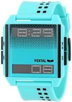 Vestal Unisex DIG029 Digichord Aqua Plastic Digital Watch