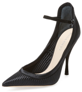 Nina Ricci High Heel Ankle Strap Pump