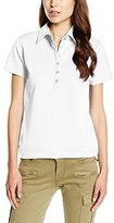 BlueBlack Women's Ella Short Sleeve Polo Shirt,8