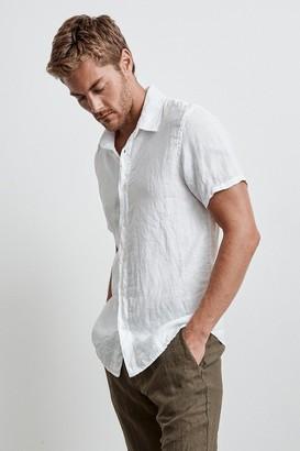 Velvet by Graham & Spencer Mackie Linen Button-Up Shirt