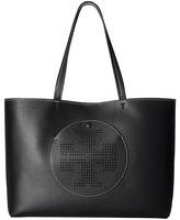 Tory Burch Perforated Logo Tote Tote Handbags