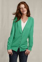 Women's Cotton Cashmere V-neck Cardigan