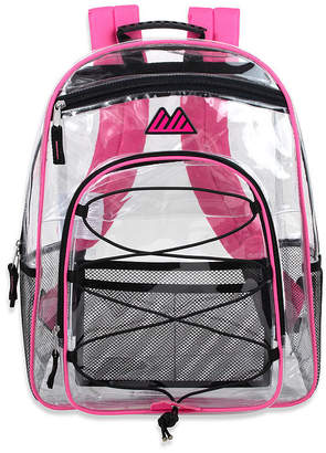 clear A D SUTTON Summit Ridge Backpack With Bungee