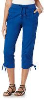 Rafaella Cargo Capri Pants