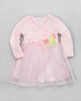 cachcach Tiny Trousseau Little Bow Peep Dress, Sizes 2T-4T