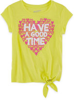 Arizona Graphic Side-Tie Tee - Preschool Girls 4-6x