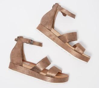 Miz Mooz Leather Ankle Strap Sandals - Sunday