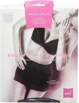 WiNK Belly & Hip Shaper Abdominal Binder - Black-L/XL