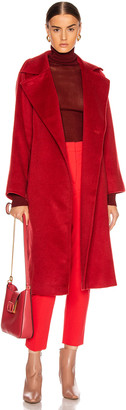 Max Mara Manuela Coat in Red | FWRD