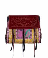 Etro Brocade And Leather Bag