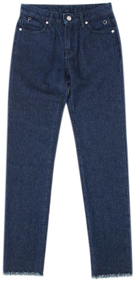Alyx Blue Polyester Jeans