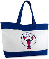 Magid Women's Totebags NATURAL - Natural & Blue Lobster Tote